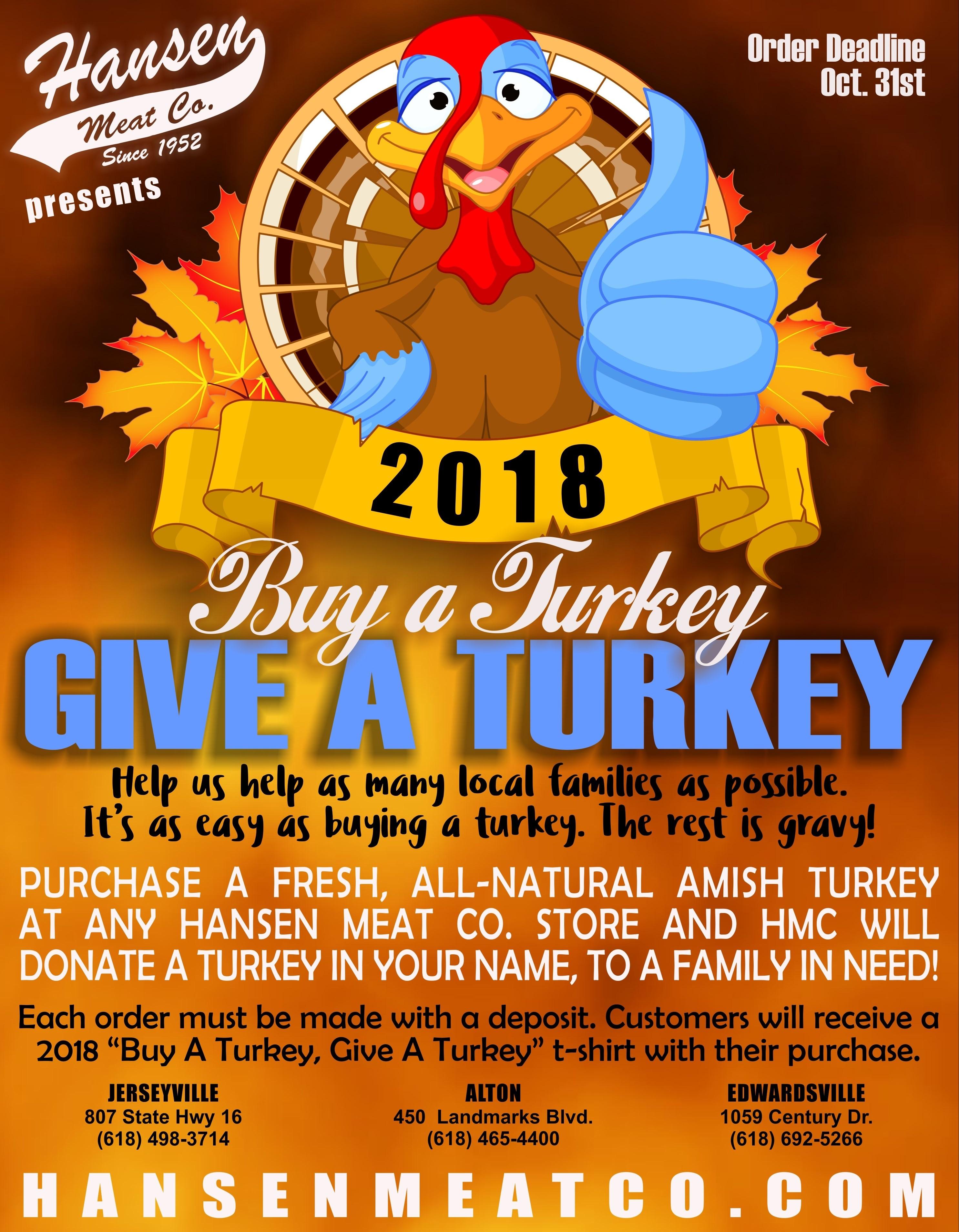 Buy a Turkey, Give a Turkey