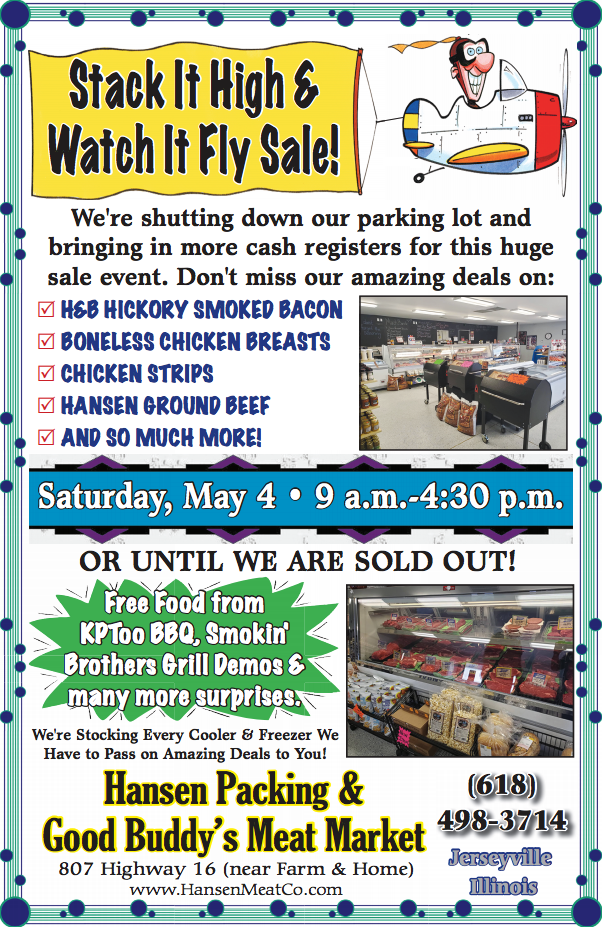 May 4th Sale Flyer