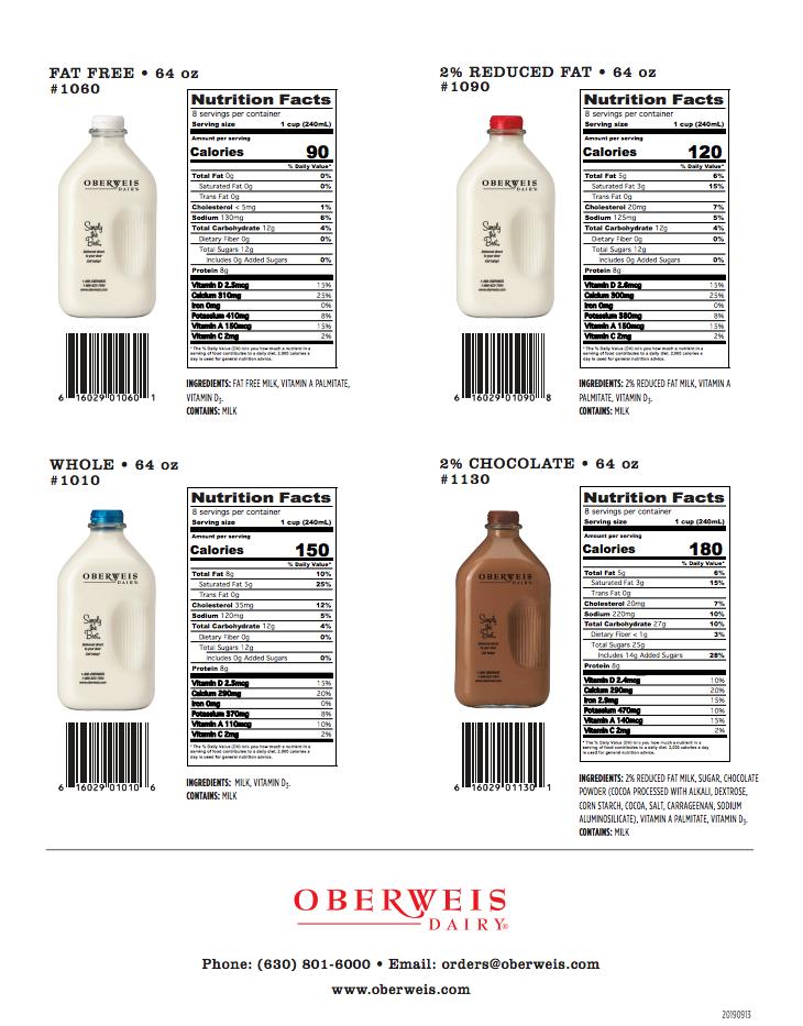 Oberweis Dairy Details